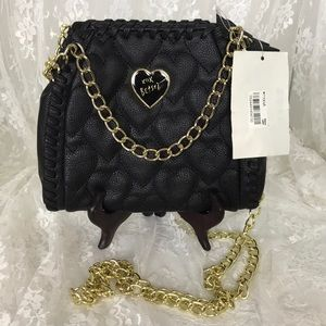 Betsey Johnson Quilted Crossbody Bag